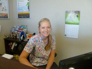 Animal Hospital Staff Member